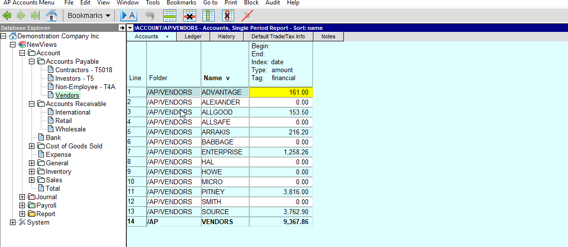 Restoring Deleted Columns on Tables – NewViews Accounting